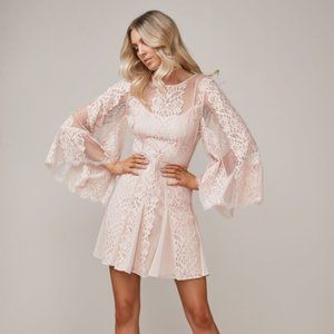 TALULAH lust over lace dress